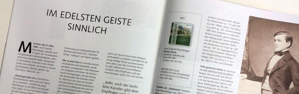 CARUS-Magazin