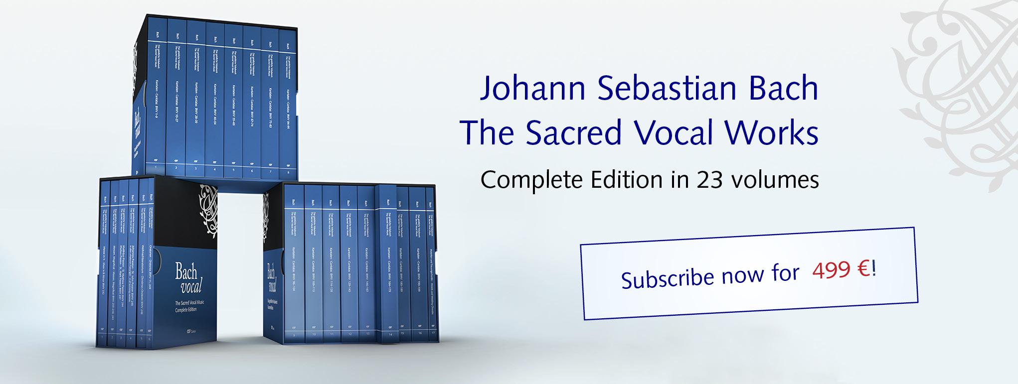 Bach vocal-Schuber