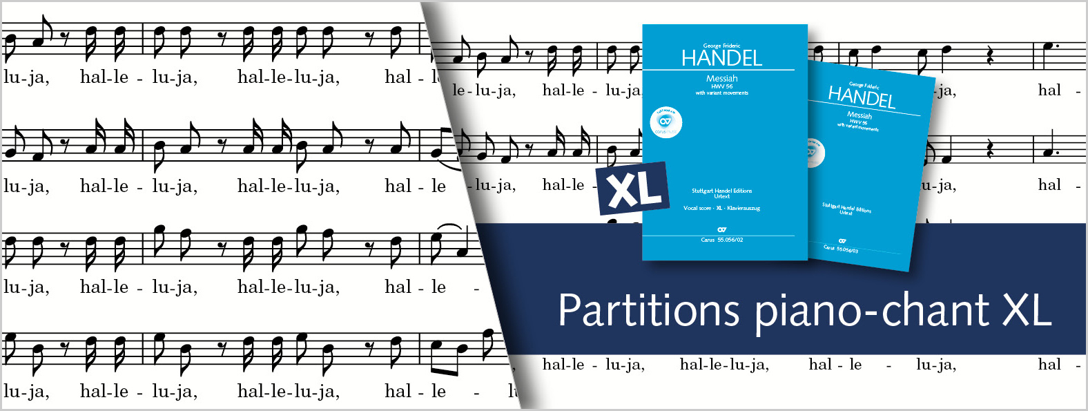 Partitions piano-chant XL
