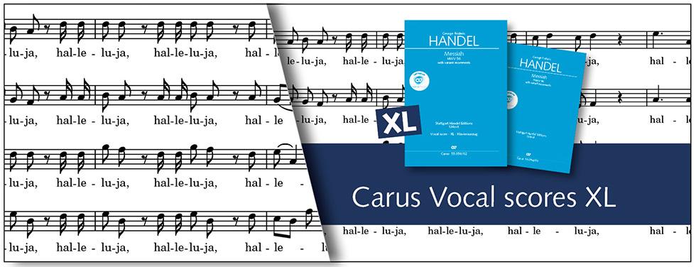 Vocal scores XL