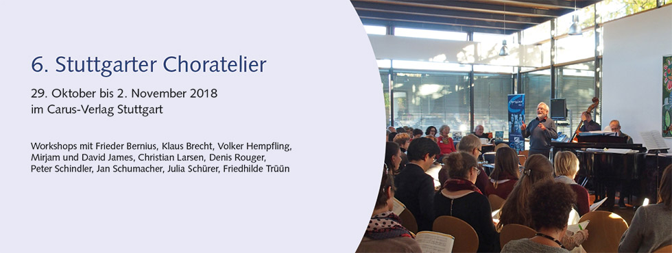 Choratelier 2018