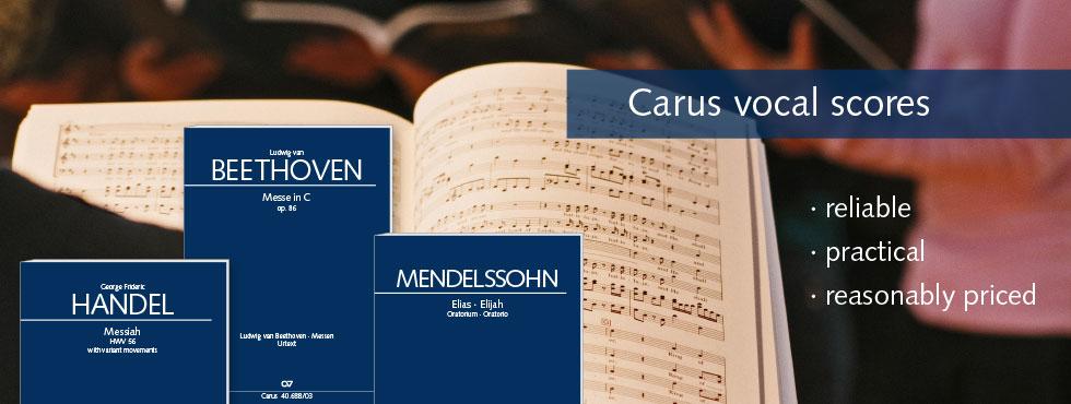 Vocal scores