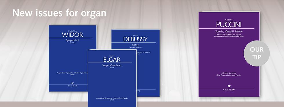 Neuerscheinungen Orgel
